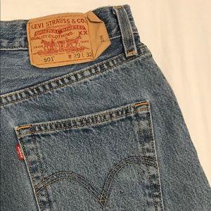Vintage Levi 501 Jeans - Label Size 29X32